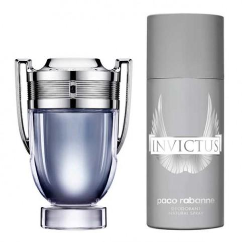 Set Invictus Eau de Toilette - PACO RABANNE. Perfumes Paris