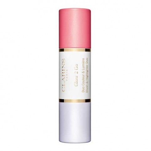 Clarins Glow 2 Go Blush & Highlighter - CLARINS. Perfumes Paris