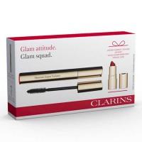 Estuche Clarins Máscara Supra Volume 8 ml + Miniatura Joli Rouge Velvet  - CLARINS. Compre o melhor preço e ler opiniões.