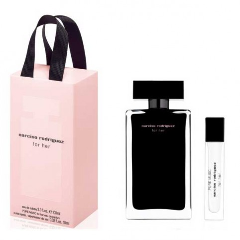 Set Narciso For Her EDT + EDP Pure Musc - NARCISO RODRIGUEZ. Perfumes Paris