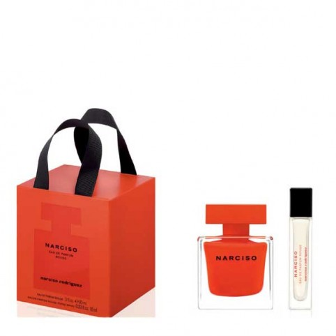 Set Narciso For Her Rouge EDP + Purse Spray - NARCISO RODRIGUEZ. Perfumes Paris