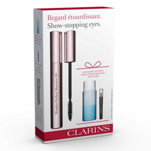Cofre Nueva Wonder Perfect Mascara 4D Clarins - CLARINS. Perfumes Paris