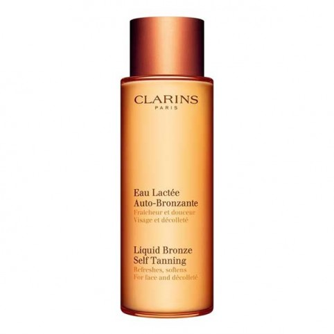 Clarins Leite Fluido Autobronzeador para Rosto e Decote - CLARINS. Perfumes Paris