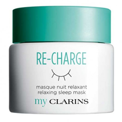 My Clarins RE-CHARGE Masque Nuit Relaxant - CLARINS. Perfumes Paris