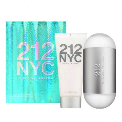 Estuche 212 NYC Woman Eau de Toilette - CAROLINA HERRERA. Perfumes Paris