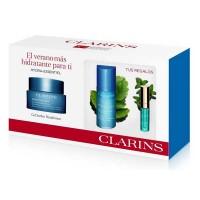 Set Clarins Hydra Essentil Gel Sorbet Biserum Lip Lift - CLARINS. Compre o melhor preço e ler opiniões.