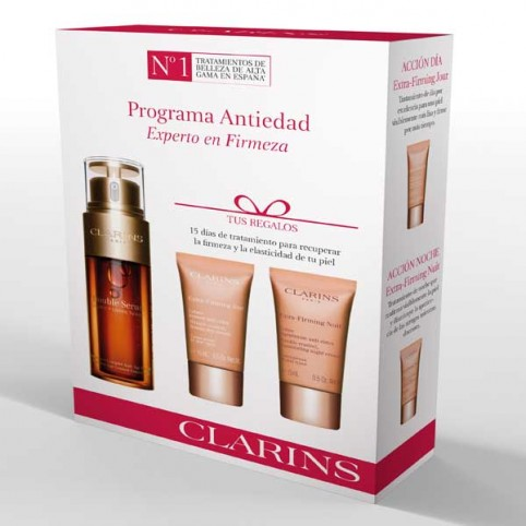 Cofre Clarins Double Serum + Extra Firming - CLARINS. Perfumes Paris