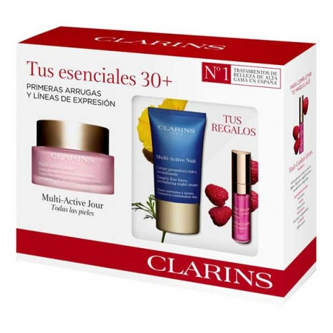 Estuche de regalo Tratamiento Experto Multi Activa todo tipo de piel Clarins - CLARINS. Perfumes Paris
