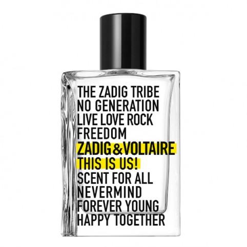 This is us EDT - ZADIG & VOLTAIRE. Perfumes Paris