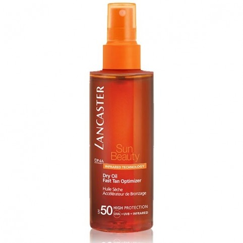 Aceite Seco Acelerador bronceado Sun Beauty Dry Oil SPF50 175ml - LANCASTER. Perfumes Paris
