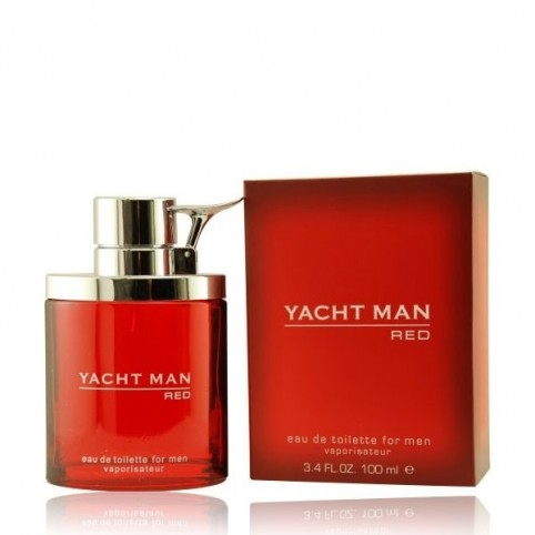 Red Man EDT 100ml - YACHT MAN. Perfumes Paris