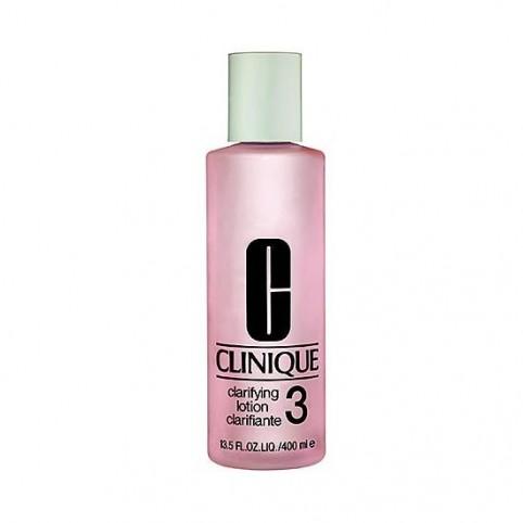 Loción Clarificante 3 Piel Grasa 400ml - CLINIQUE. Perfumes Paris