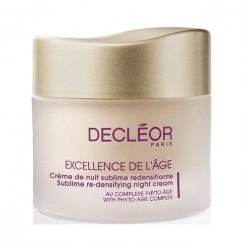 Decleor Excellence De l'Age Antiedad Global Nuit Cream 50ml - DECLEOR. Perfumes Paris