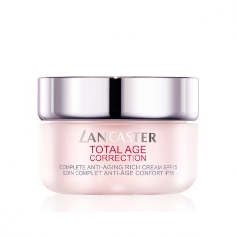 Total Age Correction Rich Dia SPF 15 50ml - LANCASTER. Perfumes Paris