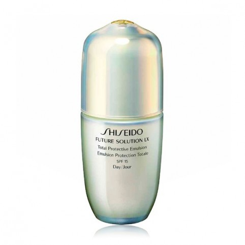 Future Solution LX Total Protective Emulsión SPF15 - SHISEIDO. Perfumes Paris