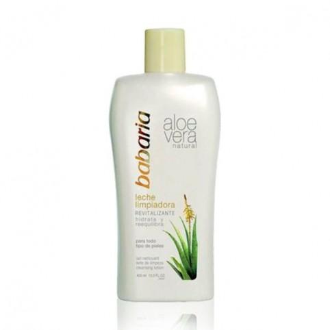 Babaria Aloe Leche Limpiadora 400ml - BABARIA. Perfumes Paris
