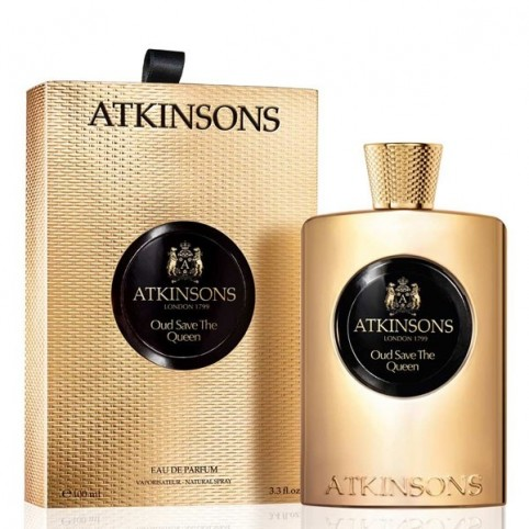 Atkinsons Oud Save The Queen EDP 100ml - ATKINSONS. Perfumes Paris