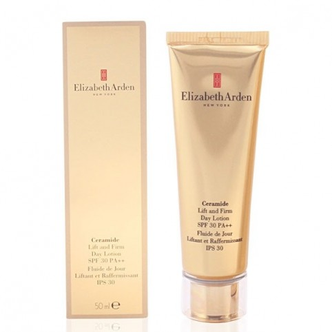 Ceramide Plump Perfect Ultra Lift and Firm Day Cream - ELIZABETH ARDEN. Perfumes Paris